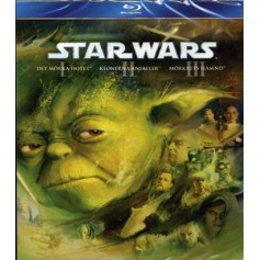Star Wars - The Prequel Trilogy (3-disc Blu-ray)